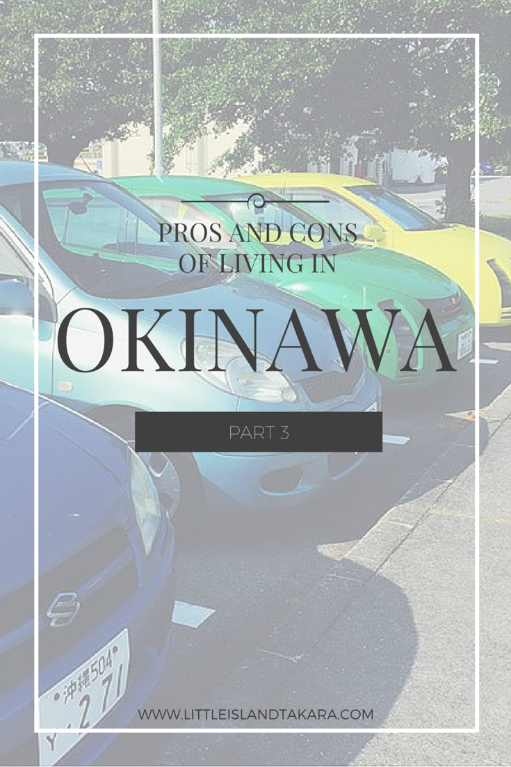 Pros and Cons of Living in Okinawa: Part 3