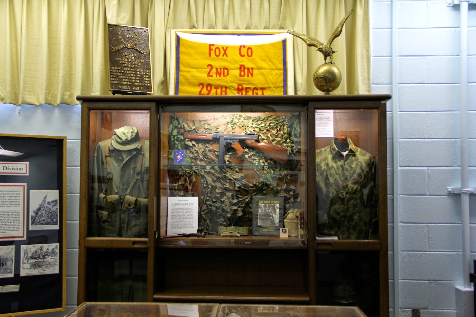 MCCS Battlesites Tour: Battle of Okinawa Historical Society Display