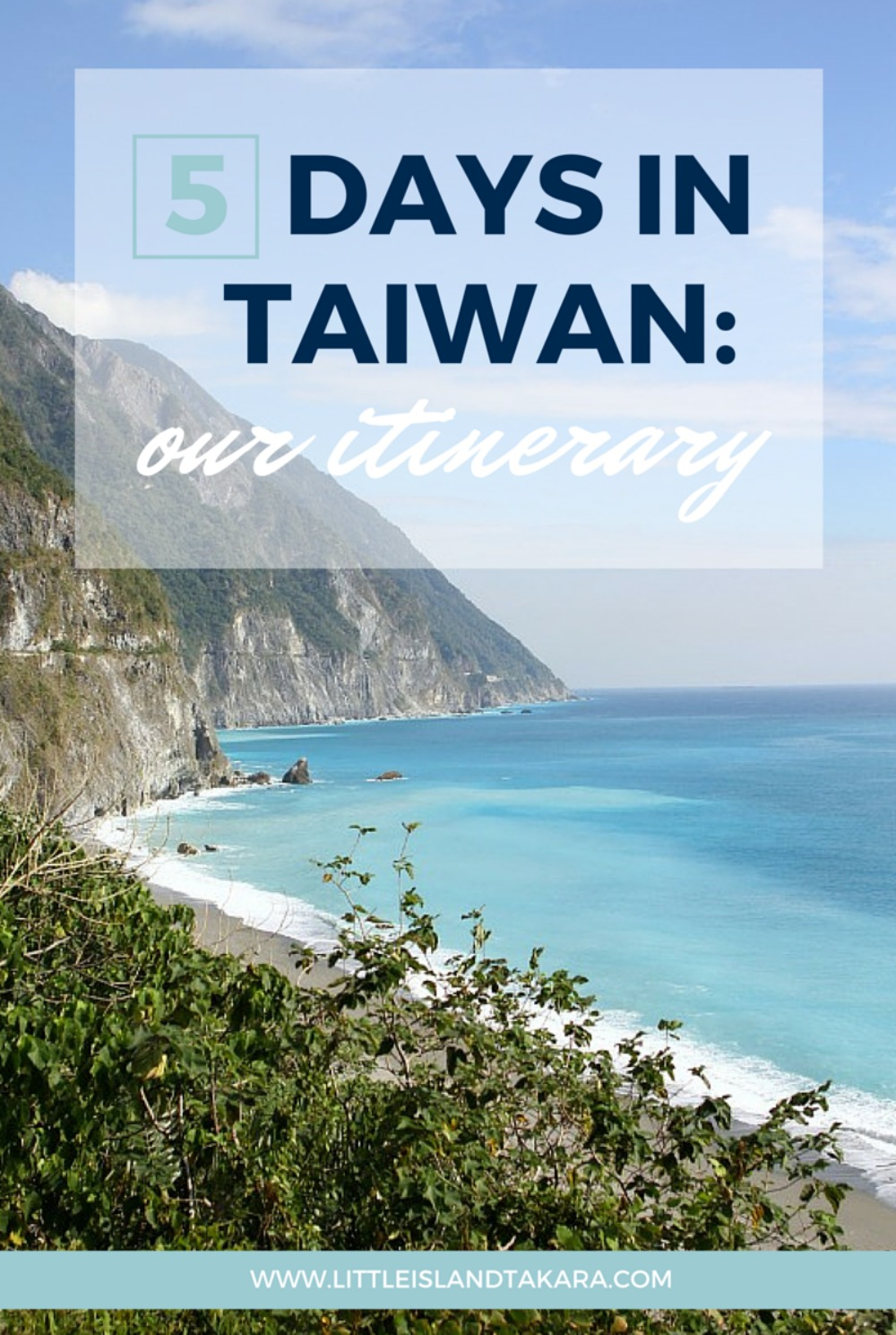 5 days in taiwan our itinerary little island takara sciox Choice Image