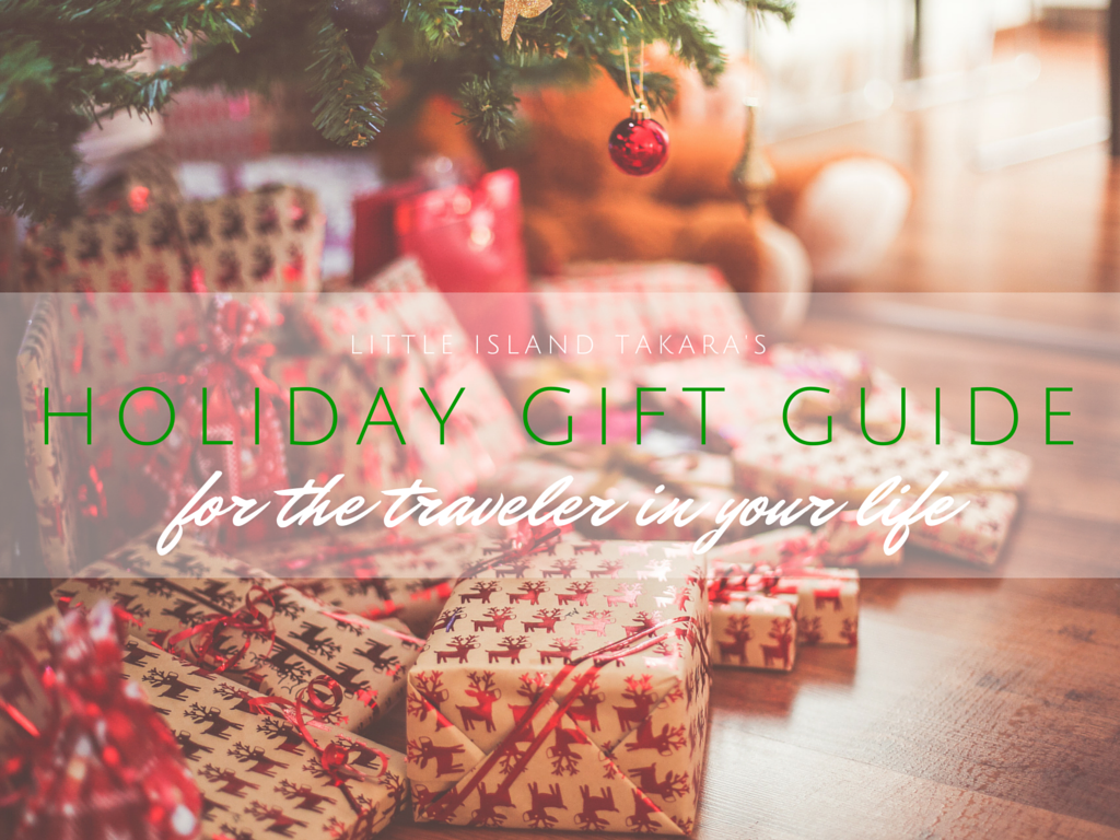Holiday Gift Guide for the Traveler in your life