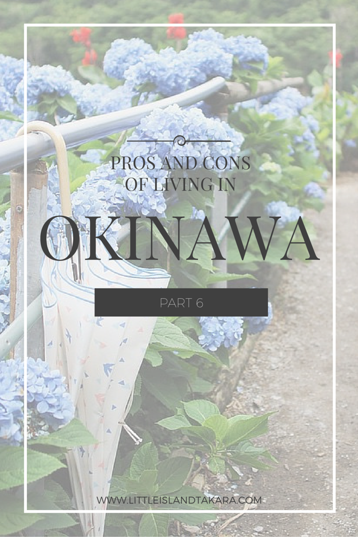 Pros and Cons of Living in Okinawa: Part 6