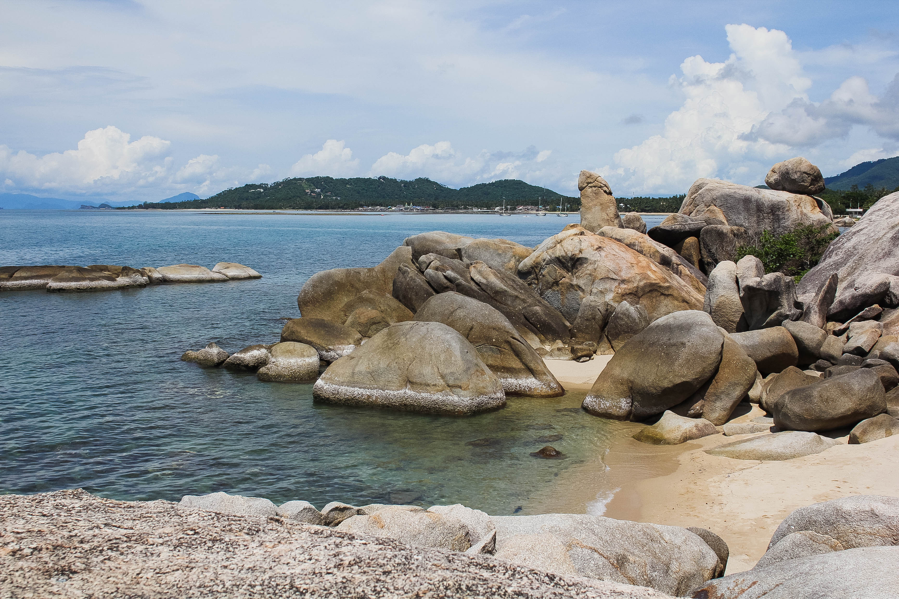 Grandmother & Grandfather Rocks – Koh Samui, Thailand