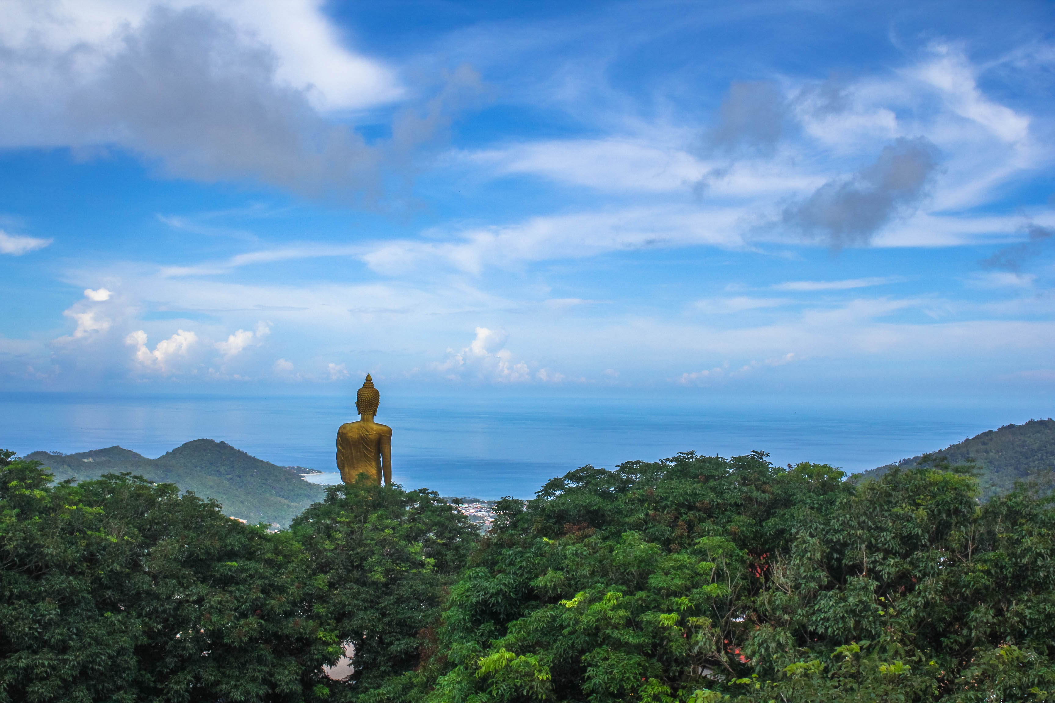 Mountain Big Buddha + Beach – Koh Samui, Thailand