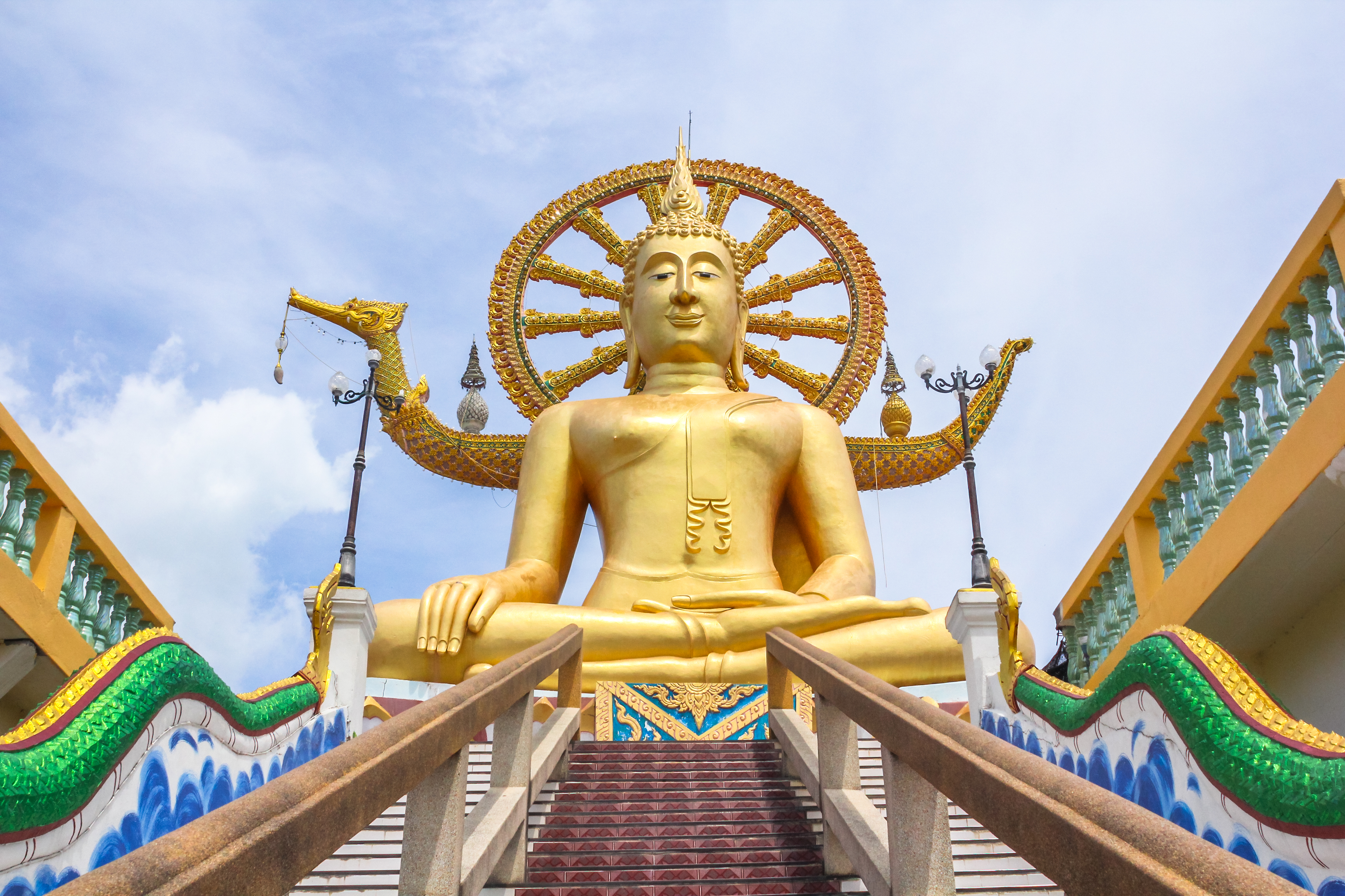 The Big Buddha Temple (Wat Phra Yai) – Koh Samui, Thailand