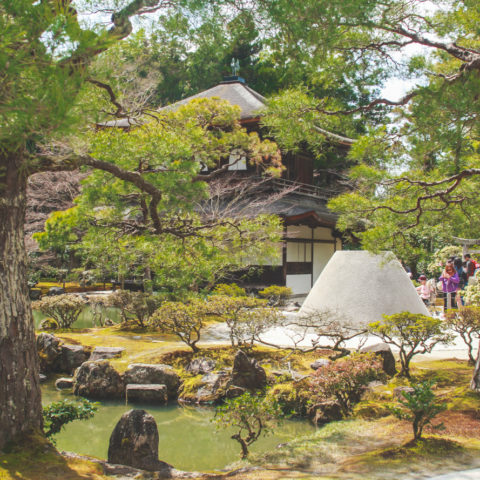 Spring in Japan: The Silver Pavilion